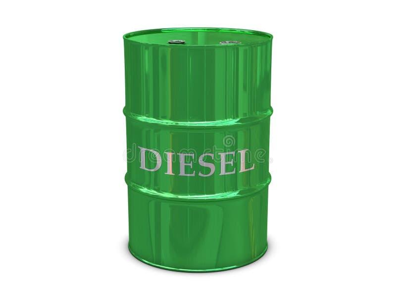 Barilotto diesel royalty illustrazione gratis