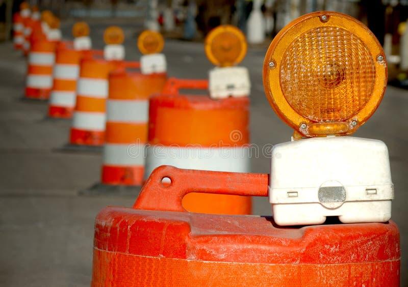 Barils de construction photo libre de droits