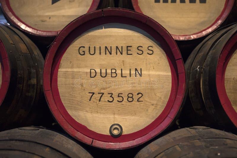 Barils de Guinness de vintage photographie stock