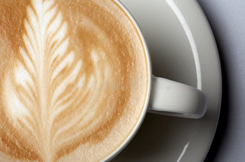 barista咖啡 免版税库存图片