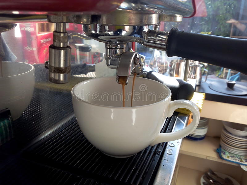 Barista stock images