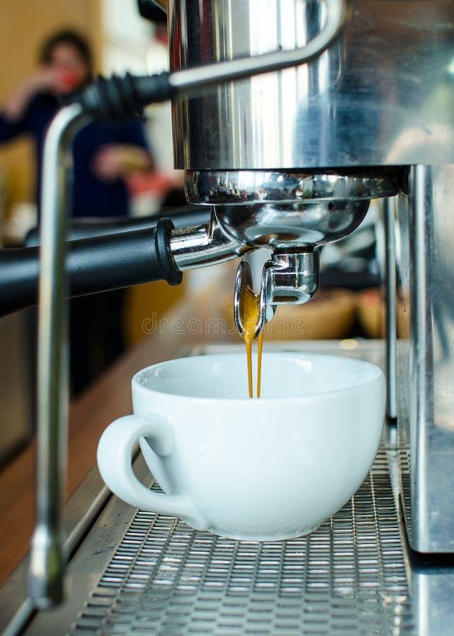 Barista Coffee Brewing stock photos