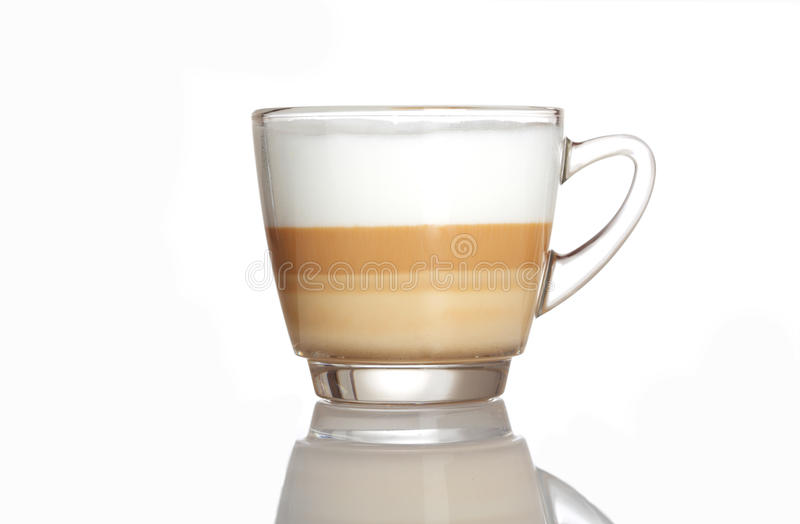 Download Barista Coffee Cup Isolated Over White Stock Photo - Image: 35300196