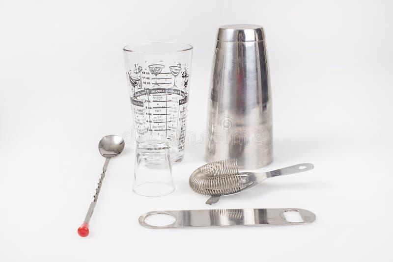 Barista Mixology Kit immagini stock libere da diritti