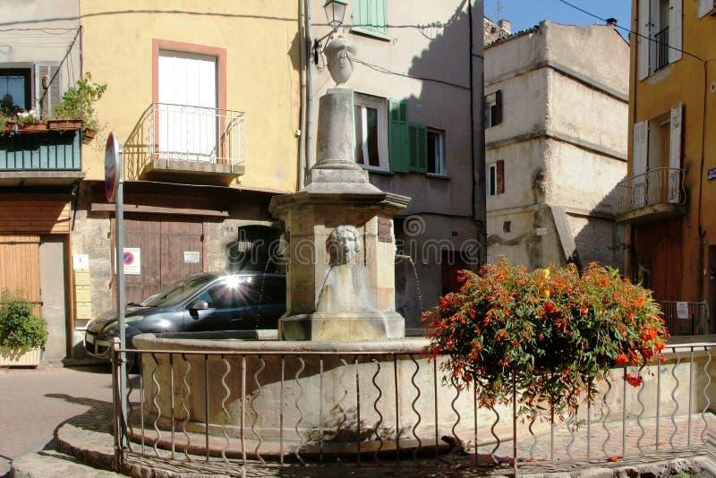 Barjols - Var - Франция стоковые изображения rf