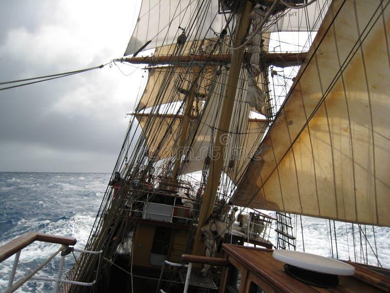 Bark Europa on the Drake Passage royalty free stock photos
