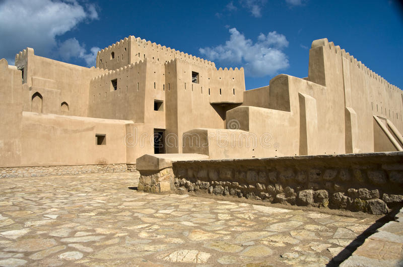 Barka Fort, Oman royalty free stock images