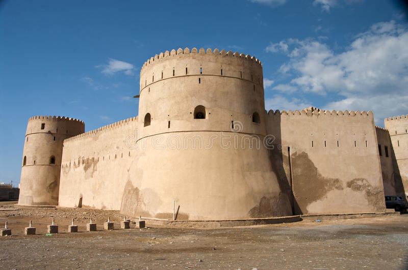 Barka Fort, Oman. The Barka Fort close to Muscat, Oman