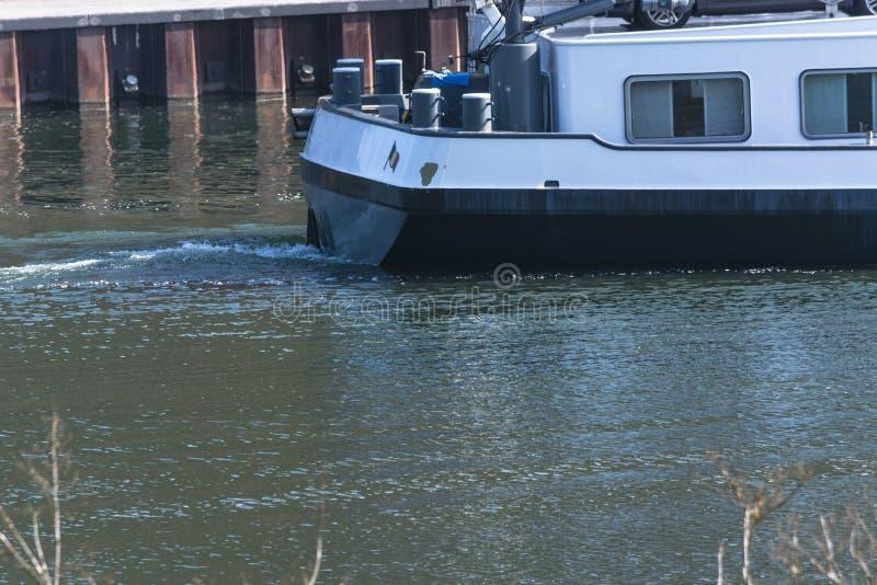 Barka na Moselle zdjęcie royalty free