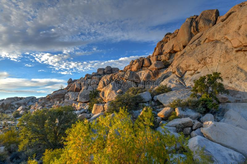Barker Dam - Joshua Tree National Park images stock