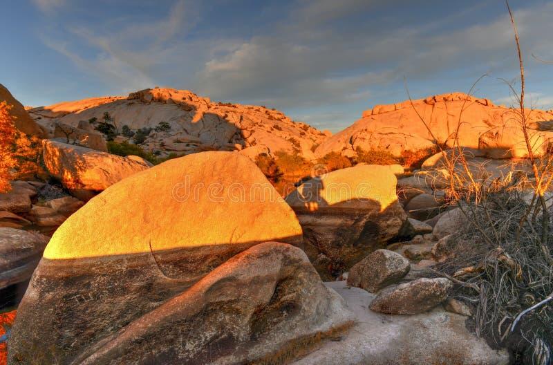 Barker Dam - Joshua Tree National Park photos stock