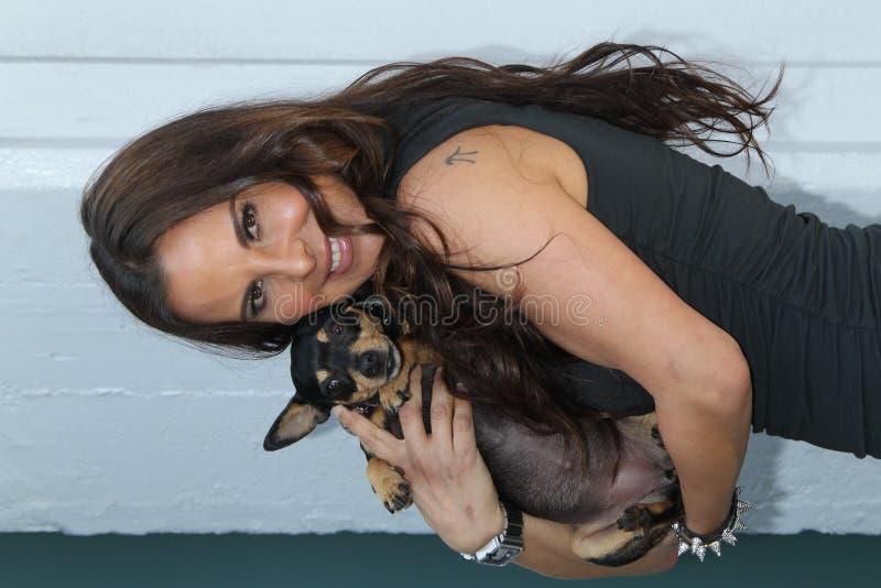 Barker van het loodje, Kate del Castillo stock foto