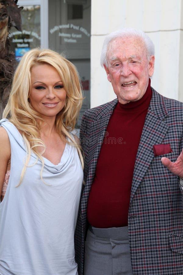 Barker van het loodje, Pamela Anderson royalty-vrije stock foto's