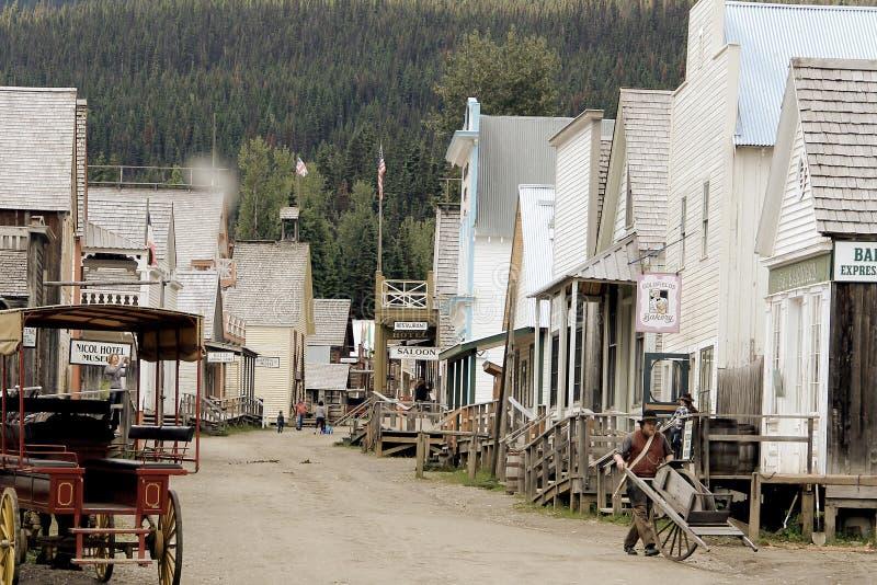 Barkerville Π.Χ. στοκ εικόνες