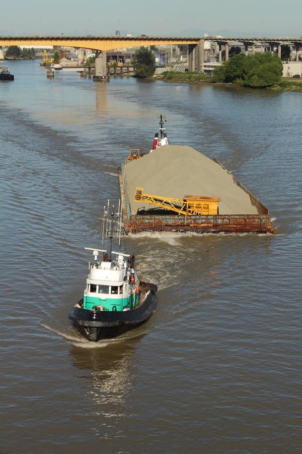 barki fraser rzeki tugboat obrazy royalty free