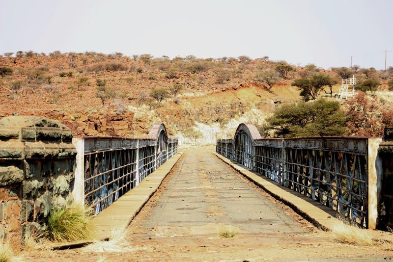 Barkly bro fotografering för bildbyråer