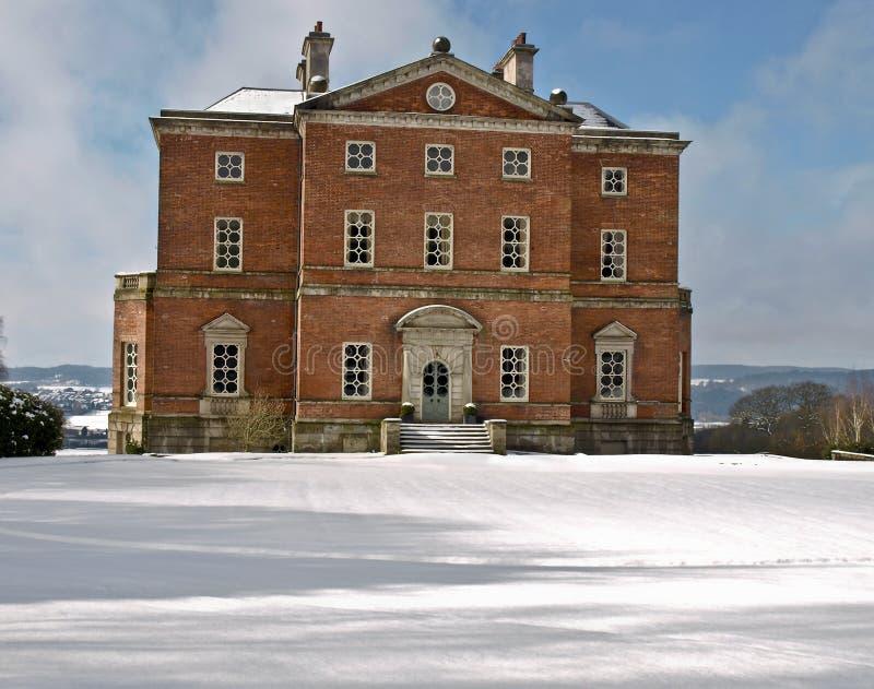 Barlaston le Staffordshire Angleterre de maison de manoir photographie stock libre de droits