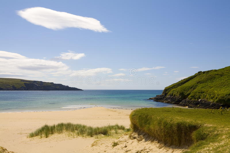 Barley Cove, West Cork, Ireland. This is the view taken of the beach at Barley Cove, West Cork, Ireland royalty free stock photography