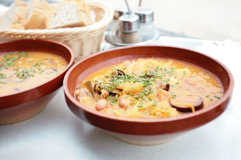 Barley Soup Royalty Free Stock Image