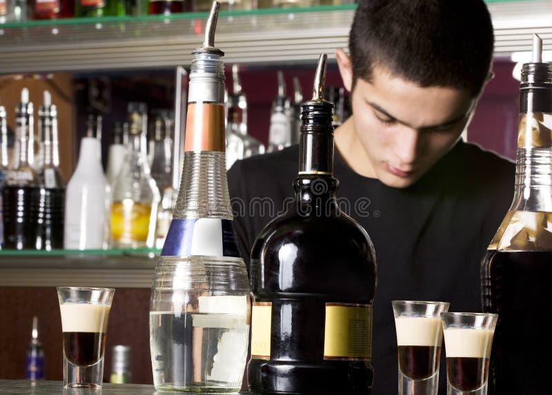 barmanów potomstwa fotografia royalty free
