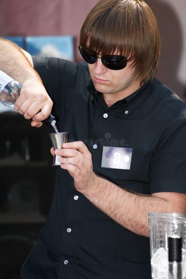 Download Barman stock image. Image of bottles, shaker, barman, tonic - 1028593