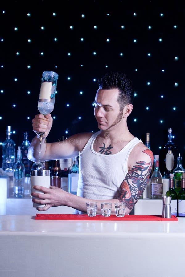 Barman stock foto's