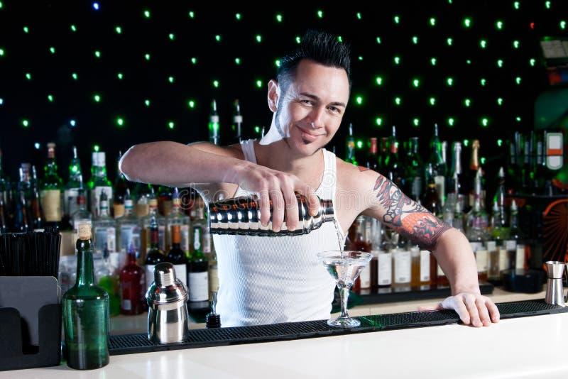 Barman images libres de droits