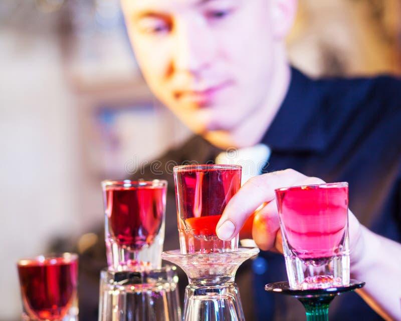 Download Barman Making Cocktail Drinks Stock Photo - Image: 29100566