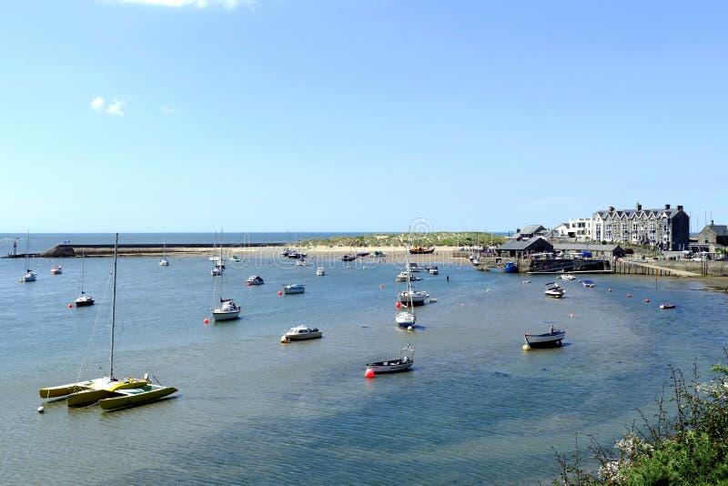 Barmouth,威尔士 免版税图库摄影