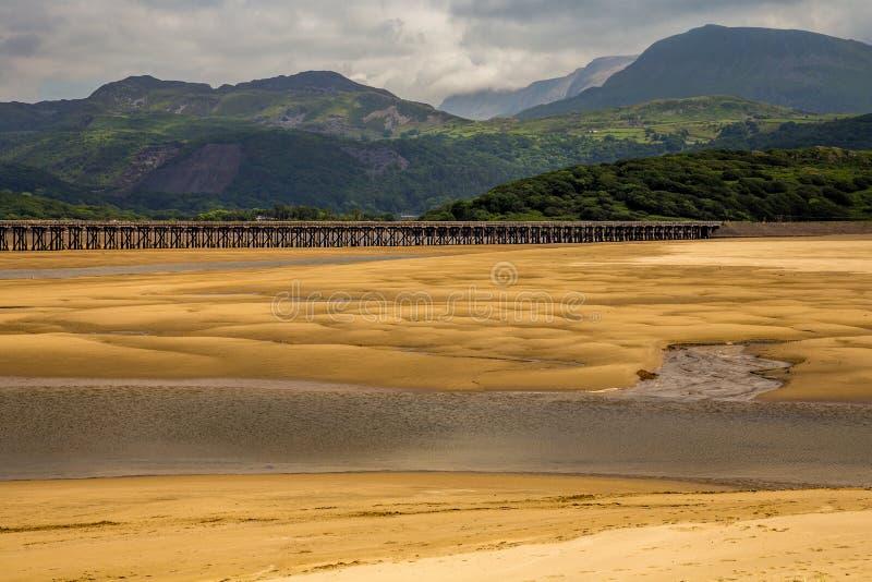 Barmouth вэльс Великобритания стоковая фотография rf