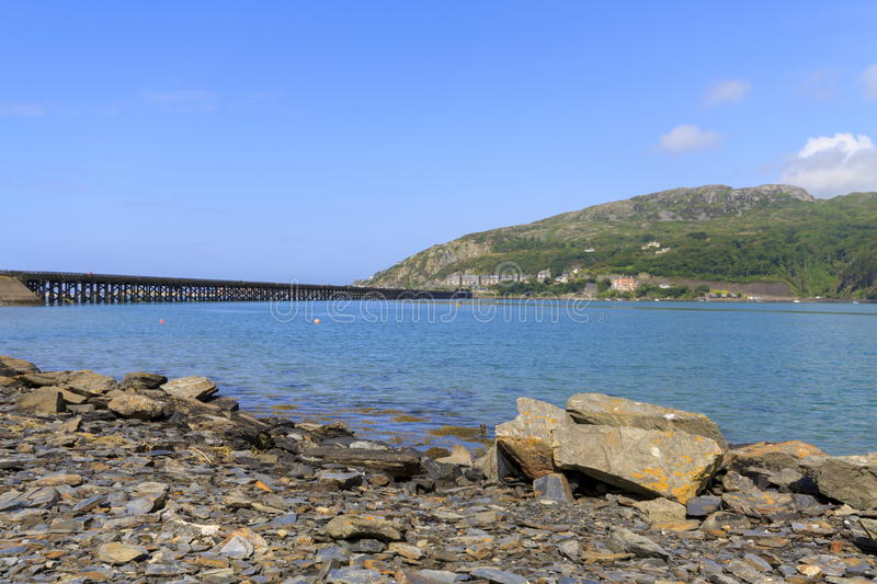 Barmouth most obrazy royalty free