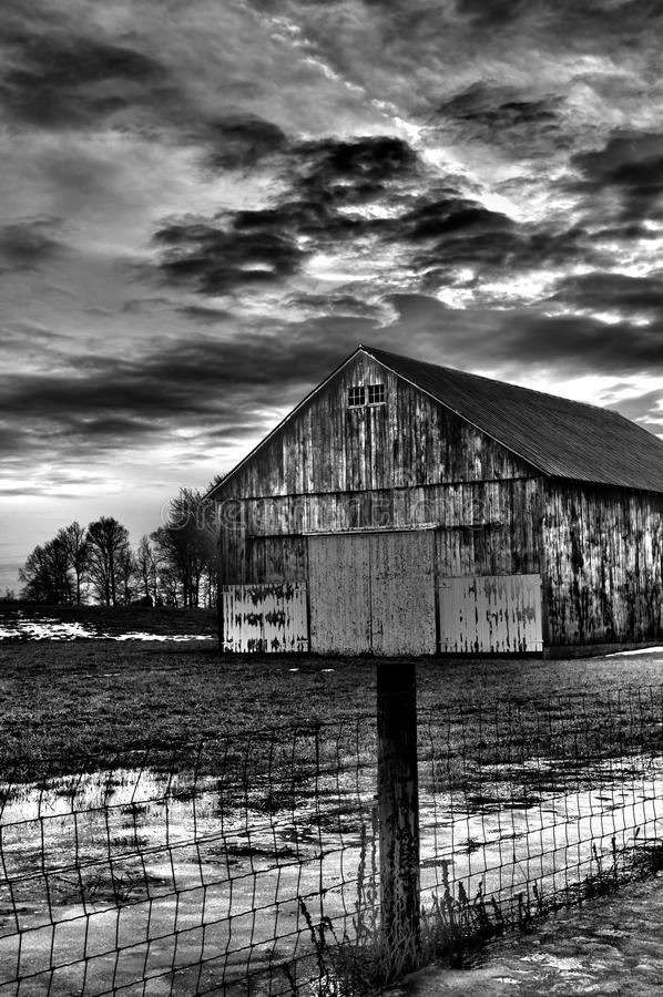 Barn in black and white with cloudy background stock image image download barn in black and white with cloudy background stock image image of having thecheapjerseys Image collections