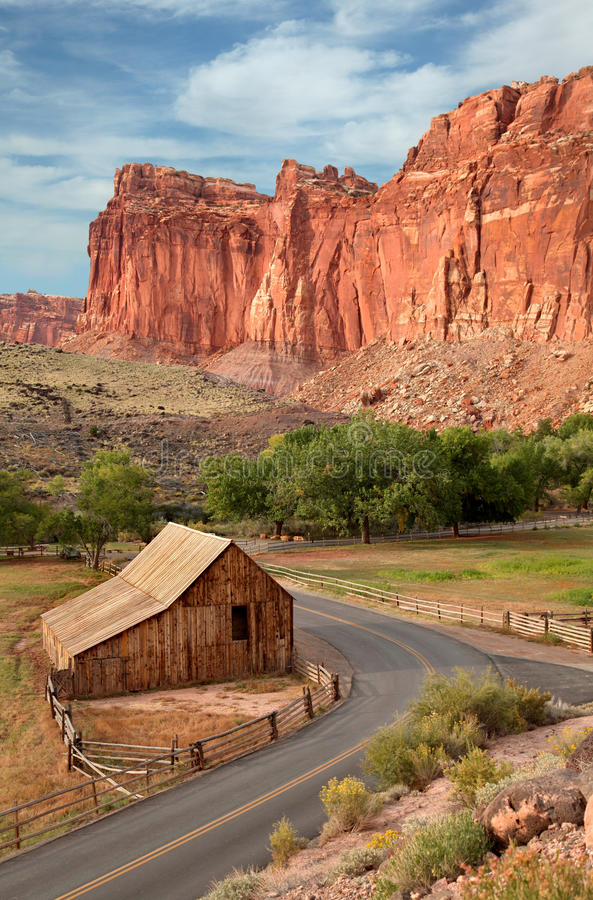 Download Barn, Capital Reef National Park Stock Photo - Image: 22075690