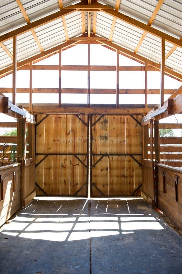 Download Barn Doors stock photo. Image of indoor, path, yellow - 25927956