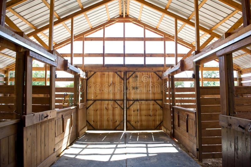 Barn Doors royalty free stock image