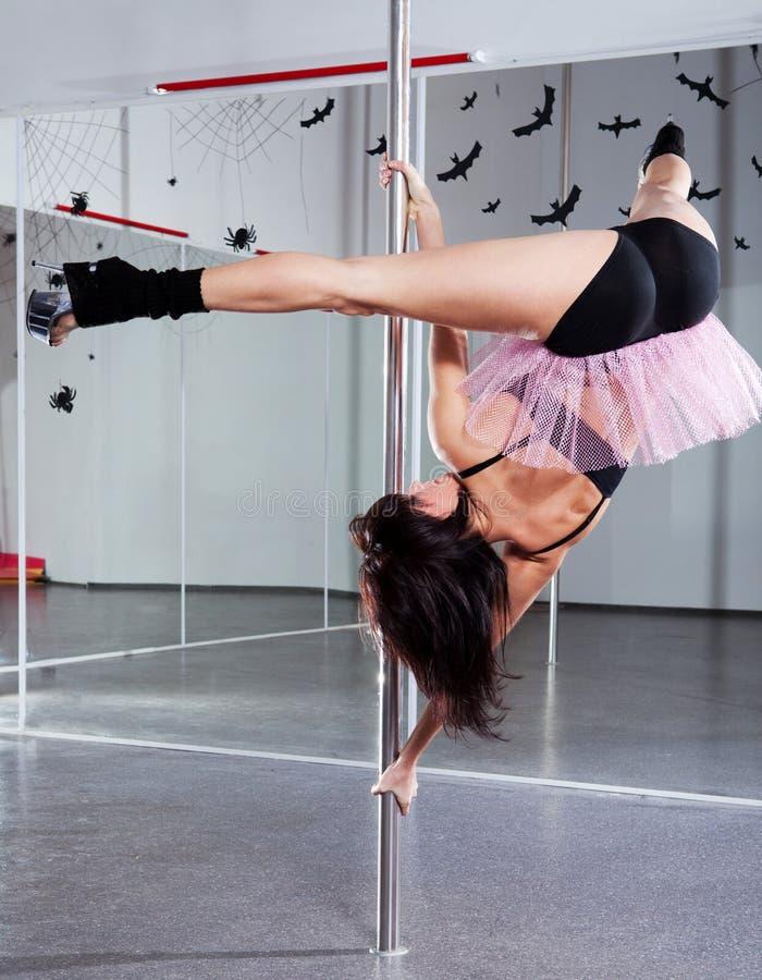 barn för danspolkvinna royaltyfri fotografi