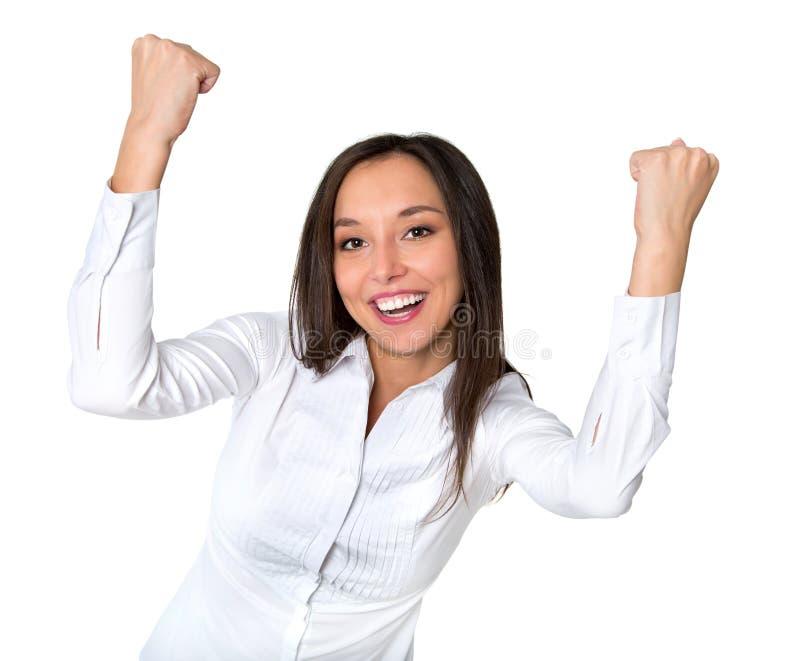 barn för kvinna för blandad professional race för asiatiskt bifall för bakgrundsaffärskvinnakamera caucasian driftigt spännande  arkivfoton