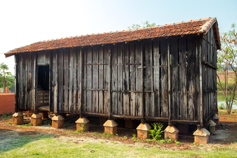 Barn farm old rural. Rustic wood architecture royalty free stock photos