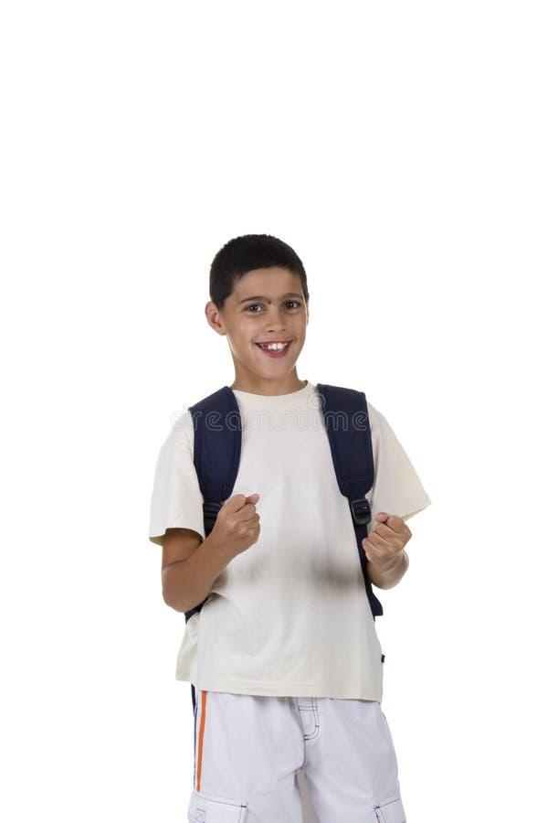barn går skolan tillbaka till arkivfoto