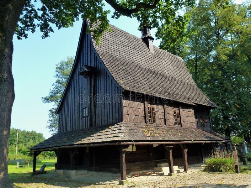 Barn, House, Farmhouse, Log Cabin stock photo