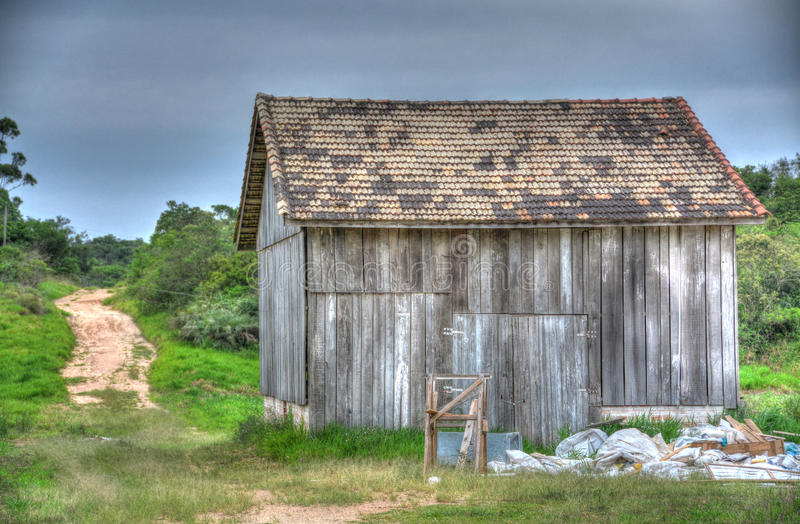 Barn House royalty free stock image