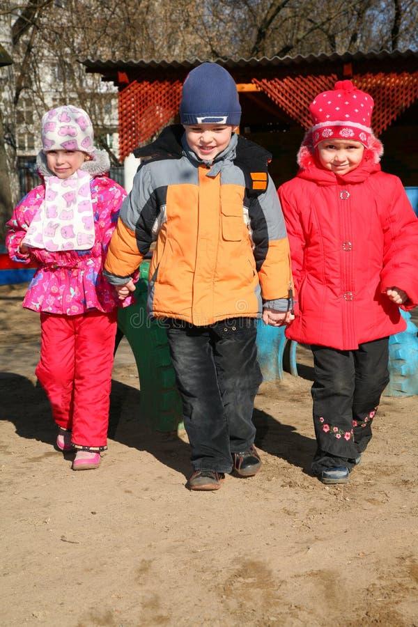 barn kindergarten3 arkivbild