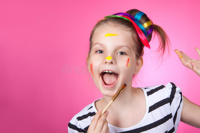 Barn och kreativitet, utveckling royaltyfri bild