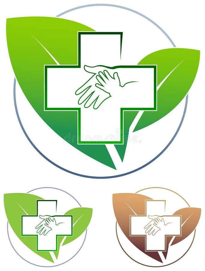 Barn- och moderhälsovård stock illustrationer