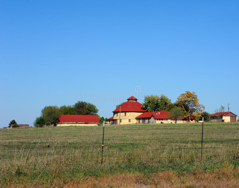 Barn in the Round royalty free stock photos