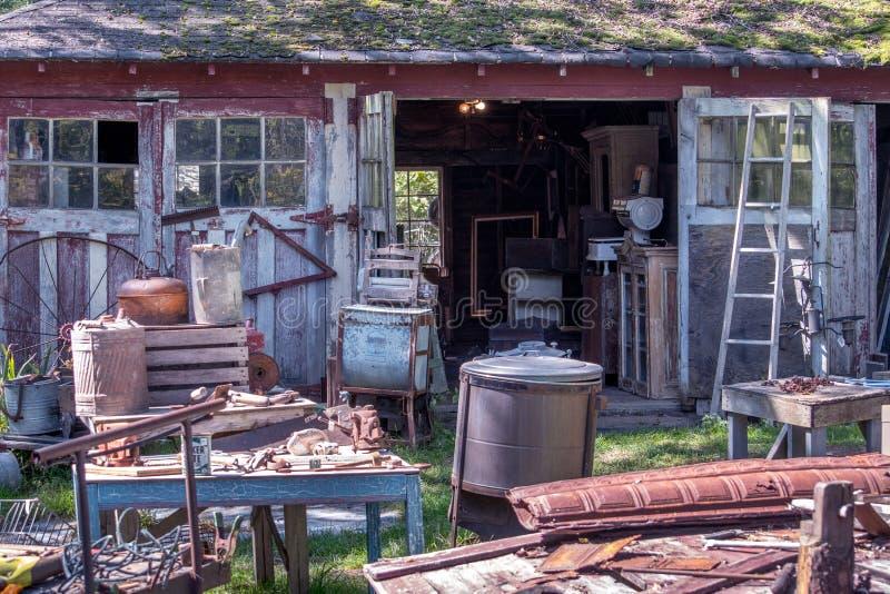Antique Yard Sale Stock Photo Image Of Odds Horizontal