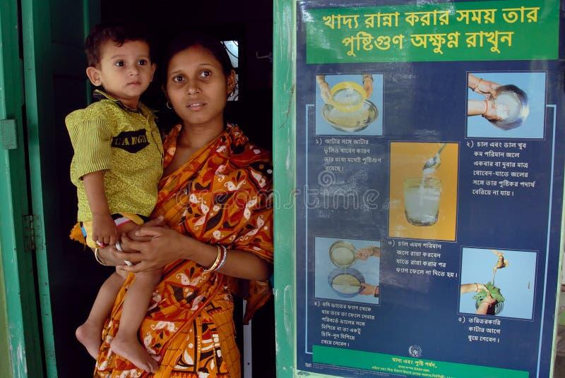 barn undernärda india royaltyfri fotografi