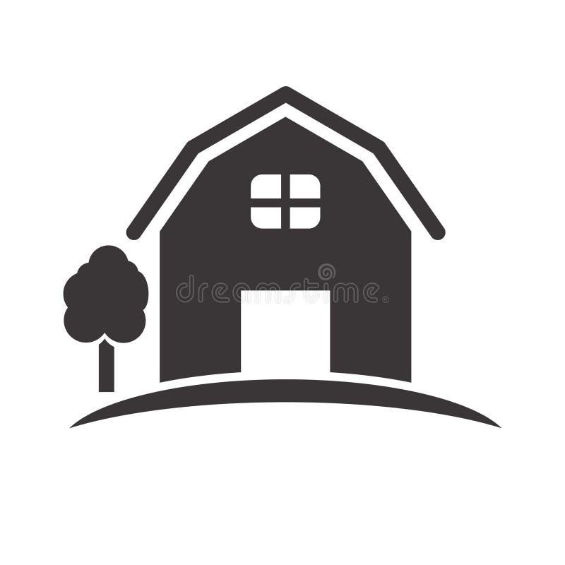 Barn vector illustration isolated on white background vector illustration