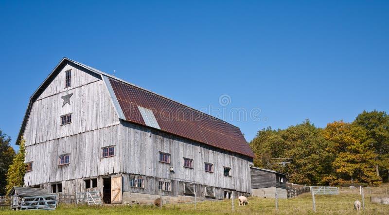 Barn wide shot royalty free stock photos