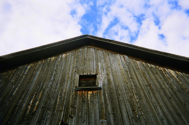 Barn yard memories. royalty free stock photo